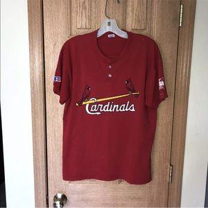 Cardinals Henley T-Shirt Nublend Baseball GYBSA